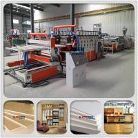 Best PVC Semi-crusted Foamed Board Extrusion Equipment/Machinery/Production line wholesale