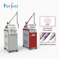 Buy cheap Professional hot sale CE approved 10Hz 1064nm 532nm q-switched nd yag laser machine for tattoo removal equipment from wholesalers