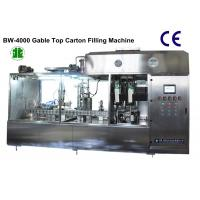 Best Fully Automatic Milk Gable-Top Carton Filling Sealing Machine (BW-4000) wholesale