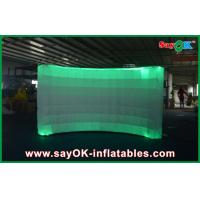 Best 12 Led Air Light Inflatable Wall Digital Printing Remote Control 3x1.5x2 m wholesale