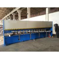 Best Manual Roll V Grooving Machine Sheet Metal Shear H4C Control System wholesale