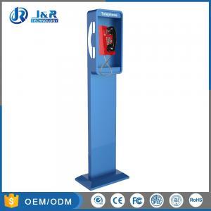Best Vandal Resistant Highway Emergency Phone Pillar , Roadside Phone Protection Pillar wholesale