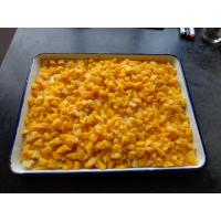Best Irregular Canned Diced Peaches / Canned Peach Dices In Syrup For Pies wholesale