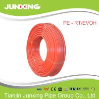 Buy cheap 32mm pe-rt/evoh floor heating pipine from Junxing with red color from wholesalers