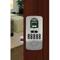 Best Biometric fingerprint door lock has no distinguish of right and left for wooden and metal wholesale
