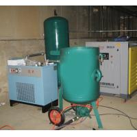 Cheap Fixed High Pressure Sand Blasting Machine , Metal Surface Blast Cleaning Equipment for sale