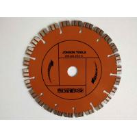Buy cheap 200 Mm Laser Welded Diamond Blade Concrete Saw With Double Turbo Segments from wholesalers