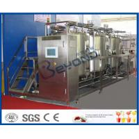 Best 10 m³/H Flow Rate 1000L CIP Cleaning System For Milk Processing Plant ISO 9001 / SGS / CE wholesale
