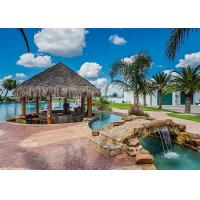 Best Outdoor Water Park Lazy River , Holiday Resorts Spa Lazy River Around House wholesale