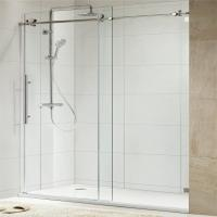 Best 304 Stainless Steel Sliding Glass Free Standing Shower Enclosure wholesale