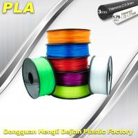 Best Desktop 1.75mm / 3.00 mm PLA 3D Printer Filament Big Size Colorful wholesale
