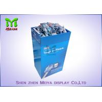 Cheap Store Cardboard Recycling Bins , Cardboard Display Bins For Drinks And Market for sale