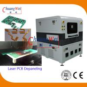 Quality 12W 15W 18W UV Laser PCB Depanel / PCB Depanelizer With High Cutting Precision wholesale