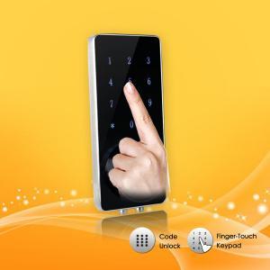 Best Fashion Design Password Door Lock High Security APP / Mechanical Key Control wholesale