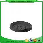 "Best Plastic Flower Pot Saucers / Plant Pot Trays Prevents Water Stains On Decks Large: is 13"" inside diameter, 18"" outside wholesale"
