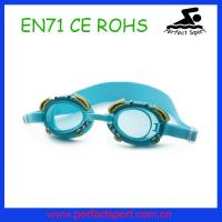 Best 2015 best selling kids cute glasses anti fog protected zoggs swimming goggles wholesale