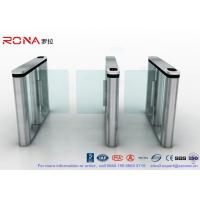 Cheap Brushed Surface Speed Gate Fastlane Turnstile Half Height Turnstile With for sale