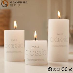 Best Wax Flameless Electronic White Burning Candle / LED Candle Light wholesale