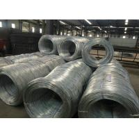Best ISO Electro Galvanized Wire For Wire Hanger , Galvanized Baling Wire wholesale