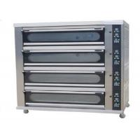 Best 4 Deck 8 Trays Commercial Baking Oven Digital Display Ceramic Heating Deck Oven for Bread wholesale