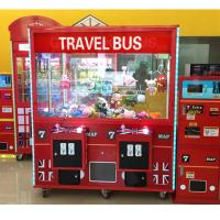 Best Coin Operated Claw Toy Grabber Machine D160 * W81 * H192 CM With LCD Main Board wholesale