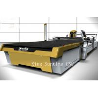 Medical Industry Electric Fabric Cutter Machine , Golden Color Fabric Cutting Machines For Quilting