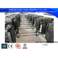 Buy cheap 100-600 mm size adjustable Cable Tray Roll Forming Machine , Cold Rolled Steel 1-3mm thickness from wholesalers