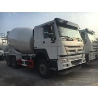 Best 8 CBM Capacity Concrete Construction Equipment / Sinotruk Howo 6x4 Concrete Mixer Truck wholesale