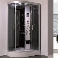Cheap 5mm Gray Tempered Glass Shower Cubicle , Stand Alone Shower Enclosures for sale