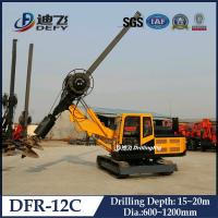 Cheap 600-1200mm Diameter Hydraulic Piling Driver Machine DFR-12C with 20m Depth for sale
