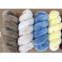 Best Lambskin Long Wool Sheepskin Steering Wheel Cover For Car Interior Accessories wholesale