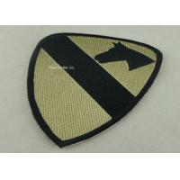 Best Heat Cut Custom Embroidery Patches with Hot Melt Adhesive 10 mm Thickness wholesale