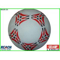 Best Pebble Standard Size 3 Rubber Soccer Ball for World Cup , 18cm Diameter wholesale