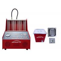 Best Petrol Fuel Injector Cleaning Machine Red Color 60*60*42cm 230W FCC Approved wholesale