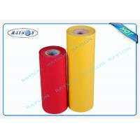 Best Red Yellow PP Material Non Woven Polypropylene Fabric With 6 Production Lines wholesale