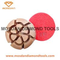 Best Flower Polishing Pucks Pads for Concrete Surface Finished wholesale