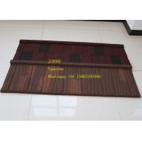 Best Storm Resistance Corrugated Steel Roofing Sheets Installed size 1290*370mm Makuti Grained Tile wholesale