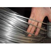 Best High Tensile Steel Oval Hot Dipped Galvanized Wire For Cattle Fence , 43kg / Roll wholesale