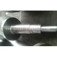 Best 4140 34CrNiMo6 4340 Alloy Steel Metal Forgings Shaft Blank Rough Machined For Wind Power Industry wholesale