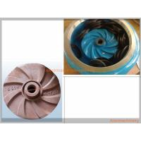 Best High Effcient Cast Process Mining Slurry Pump Impeller Corrosion Resisting wholesale