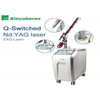 Best FDA Approved Q Switched Nd Yag Laser Machine For Pigmentation Removal wholesale