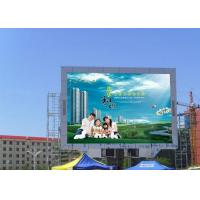 China Waterproof Outdoor Digital Advertising Billboards , P10 RGB LED Dot Matrix Dispaly on sale