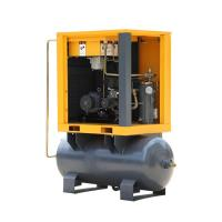 Best 7.5HP Belt drive Oil-injected screw air compressor with 300 liter Receiver 7-10bar wholesale