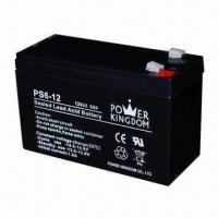 Best AGM Sealed Lead-acid Battery with 12V Voltage and 6Ah Current wholesale