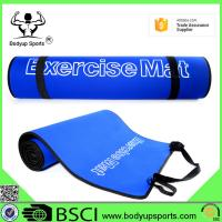 China Durable Yoga Exercise Mat With Carrying Strap Eco Friendly EVA Material on sale