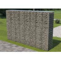 China Hot Dip Galvanised Welded Gabion Basket Gabion Box For Garden , Anti Erosion on sale