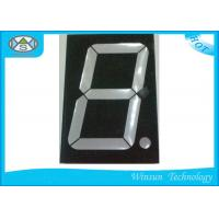 Best 1 Digit 7 Segment LED Digital Display 3.0 Inch / Electronic Number Counter For Multimedia Product wholesale