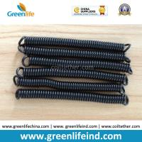 Best Top Quality PU Material Spring Stretchy Coil Strap Rope Black Colour wholesale