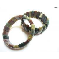 Best Fashion Charm Natural India Agate Bangle,Stone Material, Semi Precious Gem Jewelry wholesale