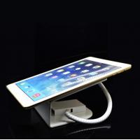 Best COMER anti-theft cable locking Security safe display tablet stand with alarm sensor and charging cord wholesale